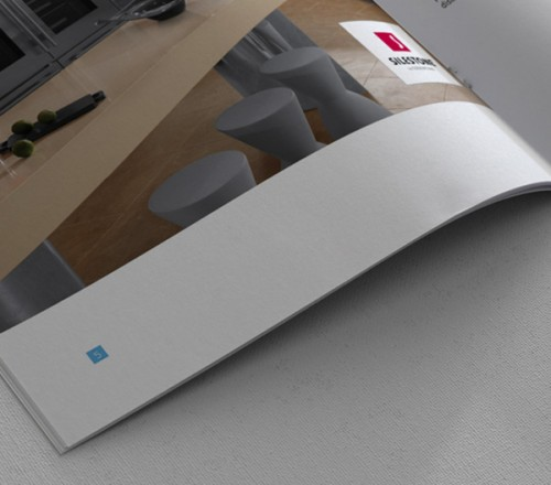 3_Brochure Design for Countertop Fabrication Company