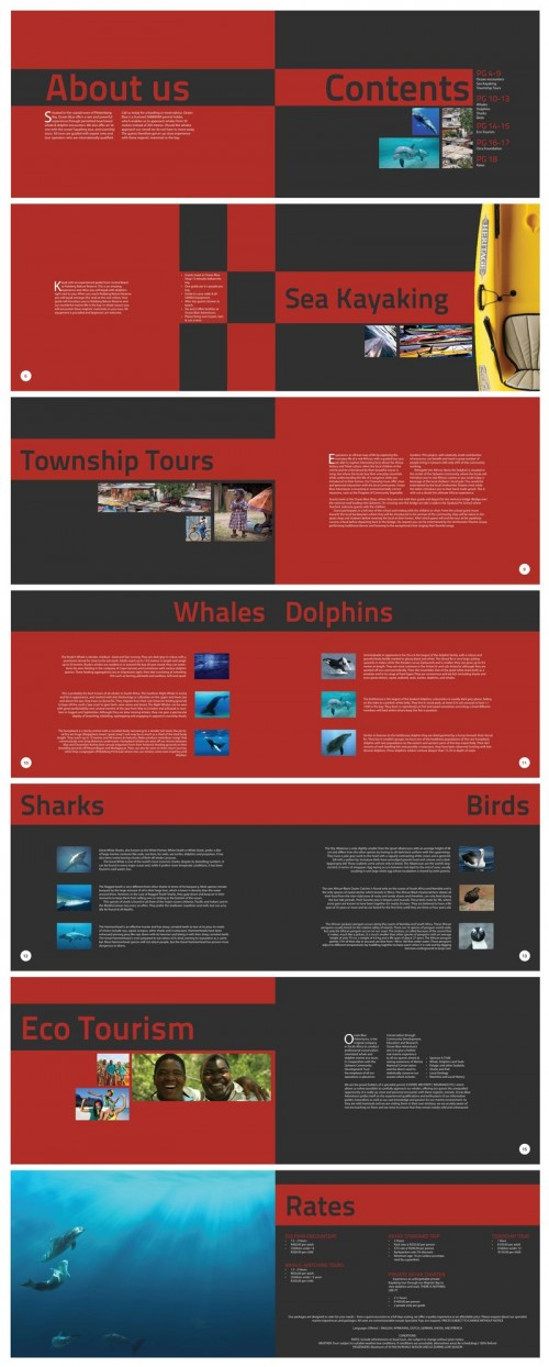 41_Ocean Blue Brochure Design