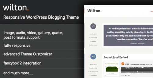 13_Wilton - Responsive WordPress Blogging Theme