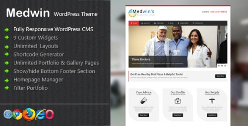 14_Medwin - Responsive Medical WordPress Theme