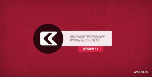 17_Kronos - One Page Responsive Wordpress Theme
