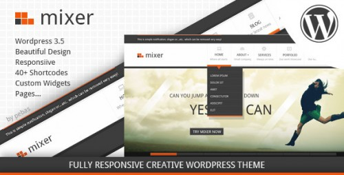 21_Mixer - Creative Responsive WP Theme