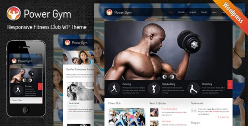 22_Power Gym - Responsive Wordpress Theme