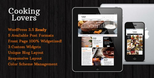 33_Cooking Lovers - Responsive WordPress Theme