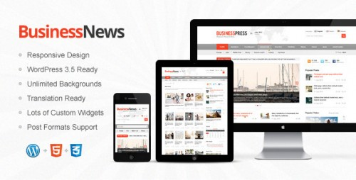 35_Business News - Responsive Magazine, News, Blog