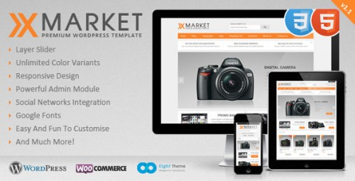 39_XMarket - Responsive WordPress E-Commerce Theme