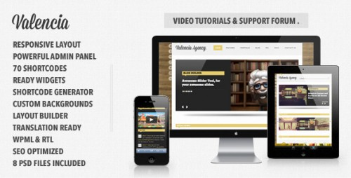 45_Valencia - Responsive WordPress Theme