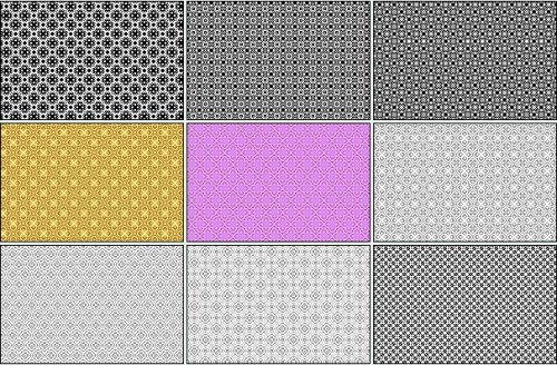 18 Free Pixel Patterns