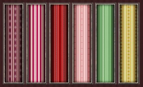6 Victorian Pixel Patterns