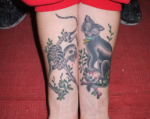 Arm Cat Tattoo Ideas 2013