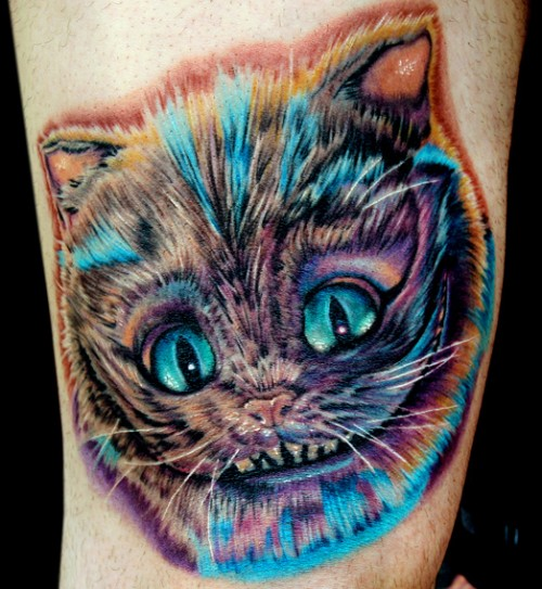 Cheshire Cat Tattoo Trend