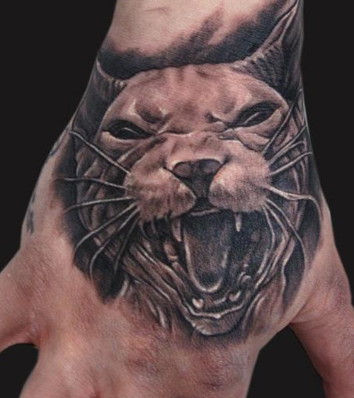 Sphynx Cat Tattoo Ideas