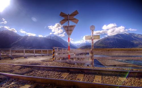 Amazing Railroad Background