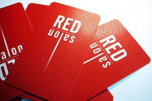 Amazing Red Business Card Ideas