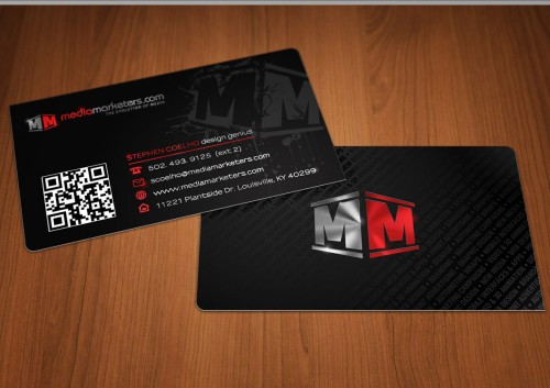 Media Marketers Business Cards