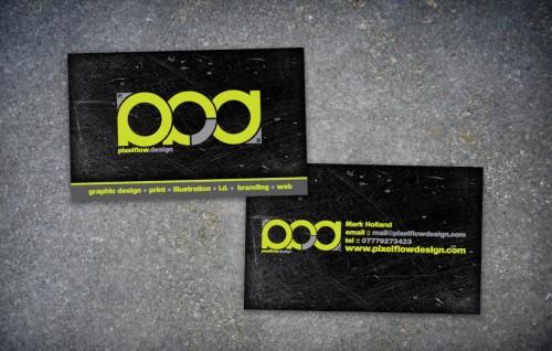 Pixelflow Design Business Card