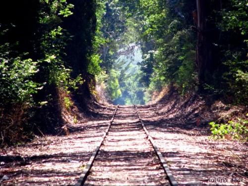 Railroad in Capitola, California