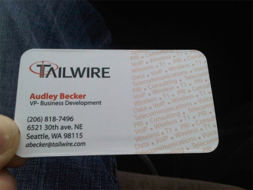 TailWire Card Back