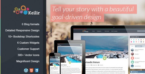 Keilir - Responsive WordPress Blog Theme