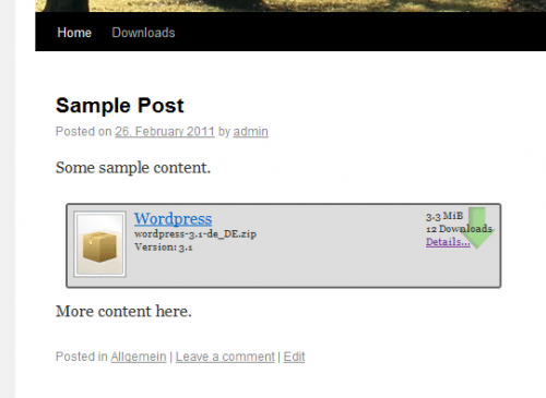 WP-Filebase Download Manager