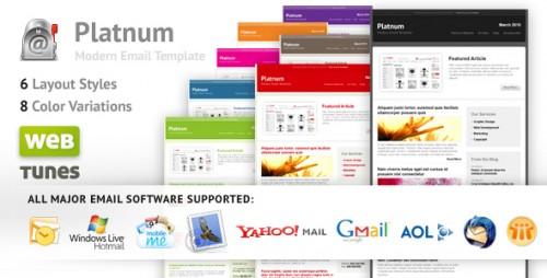 Platnum Email Template