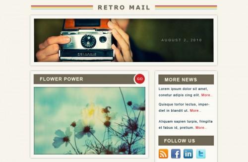 Retro Mail