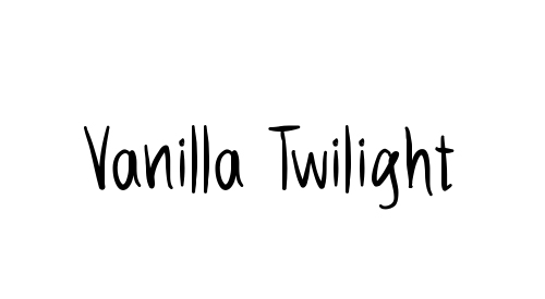 Vanilla Twilight