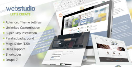 Webstudio: Responsive Drupal 7 Theme