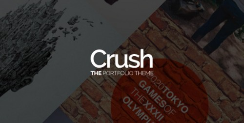 Crush - The Portfolio WordPress Theme