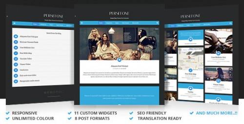Persefone - Responsive WordPress Blog Theme
