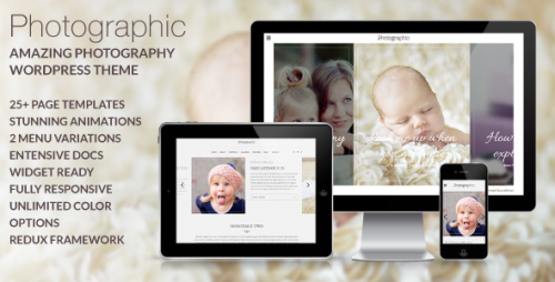 Photographic - Premium Photography WP Theme