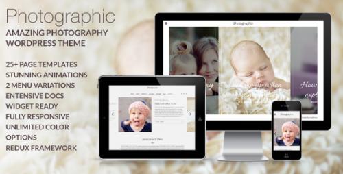 Photographic - Premium Photography WP Theme