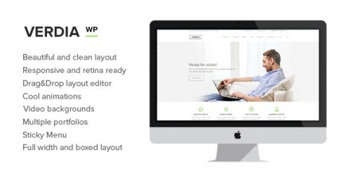 Verdia - Responsive Multi-Purpose WordPress Theme