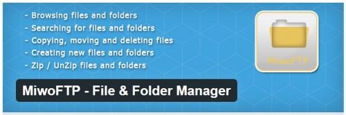 MiwoFTP - File & Folder Manager
