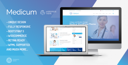 Medicum - Health & Medical WordPress Theme