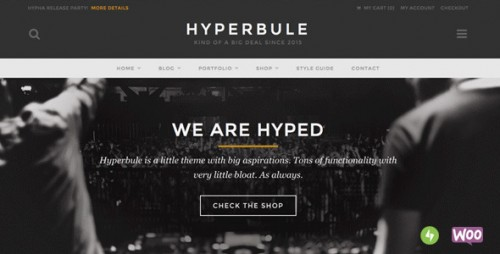 Hyperbule - WordPress Photo Blog Theme