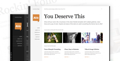 Design Avenue WordPress Portfolio Theme