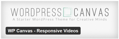 WP Canvas - Responsive Videos