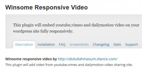 Winsome Responsive Video