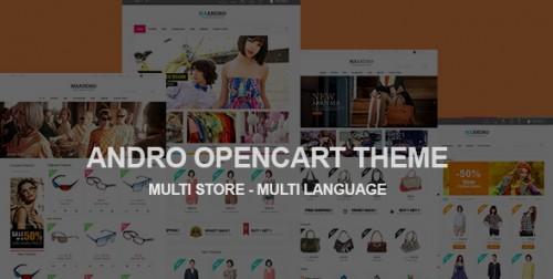Andro - Multipurpose Responsive OpenCart Theme