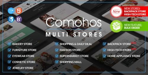 Comohos - Multipurpose Responsive OpenCart Theme