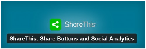 ShareThis - Share Buttons and Social Analytics