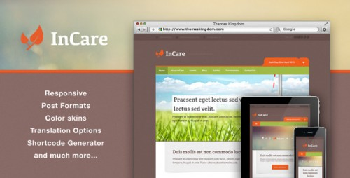 InCare Best WP Theme