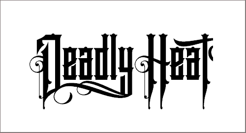 Deadly Heat Font