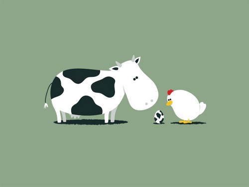 Funny Cow Wallpaper