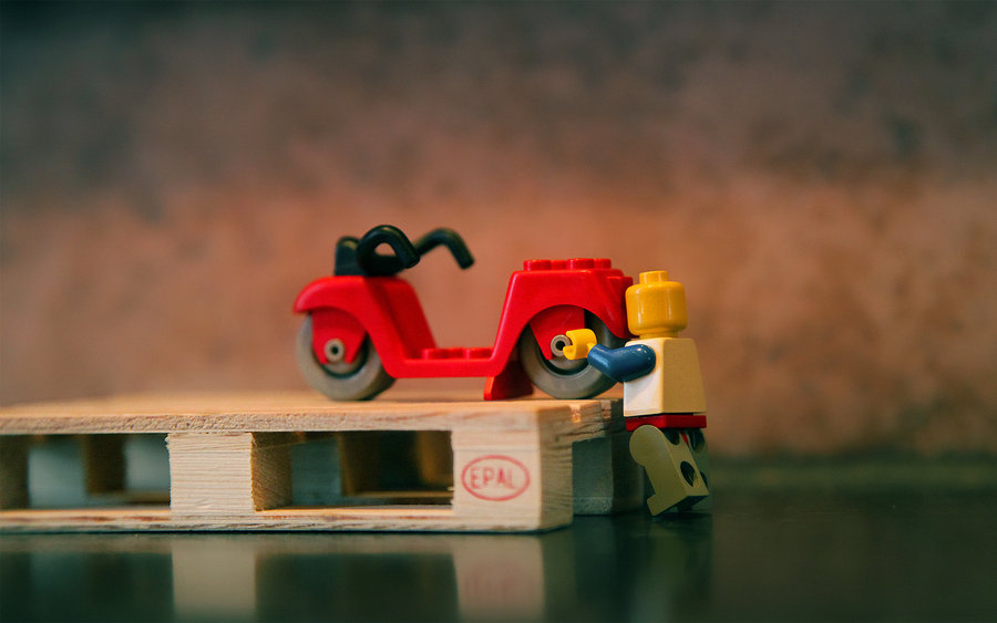 Lego Transport - Wallpaper