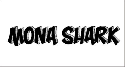 Mona Shark Font
